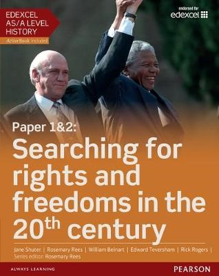 Edexcel AS/A Level History, Paper 1&2: Searching for rights and freedoms in the 20th century Student Book + ActiveBook - pr_17881