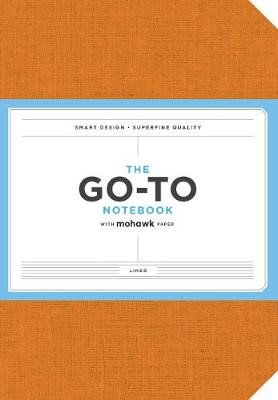 Go-To Notebook with Mohawk Paper, Persimmon Orange Lined -