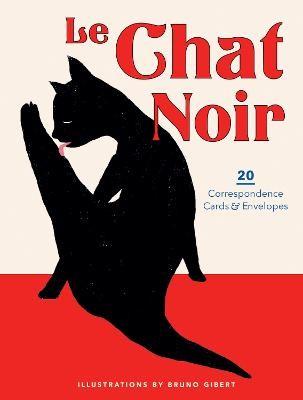Le Chat Noir: 20 Correspondence Cards & Envelopes -