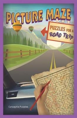 Picture Maze Puzzles for a Road Trip -