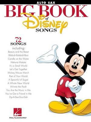 The Big Book of Disney Songs (Alto Sax) -