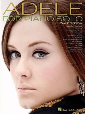 Adele for Piano Solo -
