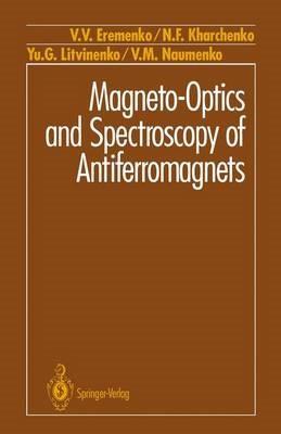 Magneto-Optics and Spectroscopy of Antiferromagnets - pr_419867
