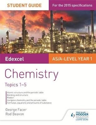 Edexcel AS/A Level Year 1 Chemistry Student Guide: Topics 1-5 - pr_332439