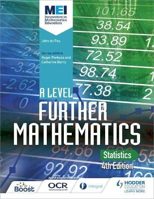 MEI A Level Further Mathematics Statistics 4th Edition - pr_332514