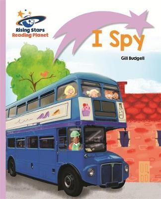 Reading Planet - I Spy - Lilac: Lift-off -
