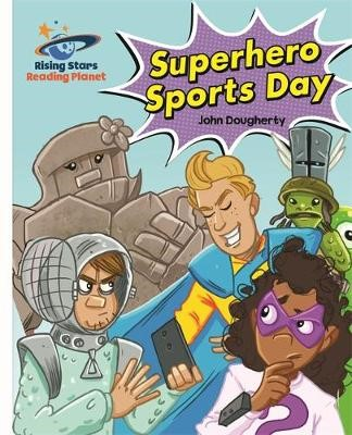 Reading Planet - Superhero Sports Day - White: Galaxy -