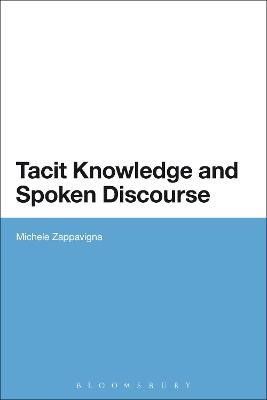 Tacit Knowledge and Spoken Discourse - pr_16970