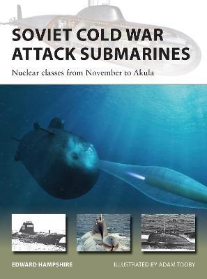 Soviet Cold War Attack Submarines -