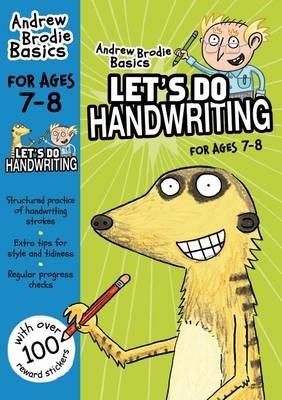 Let's do Handwriting 7-8 -