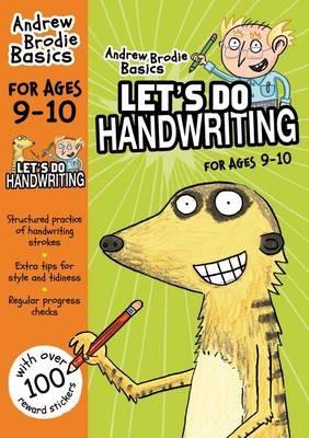 Let's do Handwriting 9-10 -