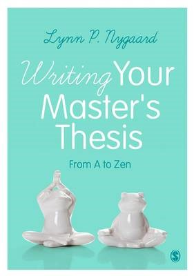 Writing Your Master's Thesis -