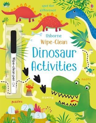 Wipe-Clean Dinosaur Activities -