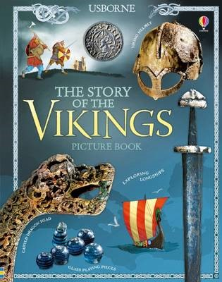 The Story of the Vikings Picture Book - pr_119190