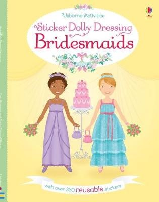 Sticker Dolly Dressing Bridesmaids -