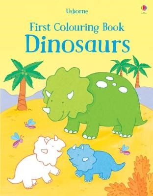 First Colouring Book Dinosaurs -