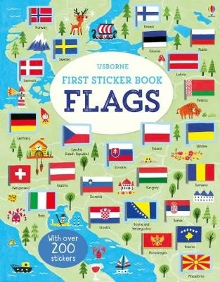 First Sticker Book Flags -