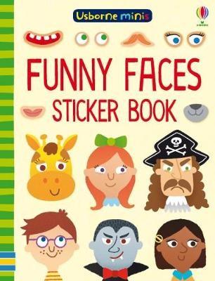 Funny Faces Sticker Book -