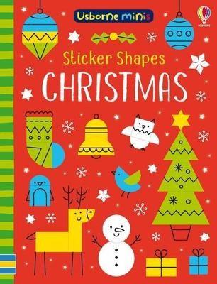 Sticker Shapes Christmas -
