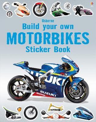 Build Your Own Motorbikes Sticker Book -