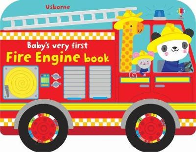 Baby's Very First Fire Engine Book - pr_310117