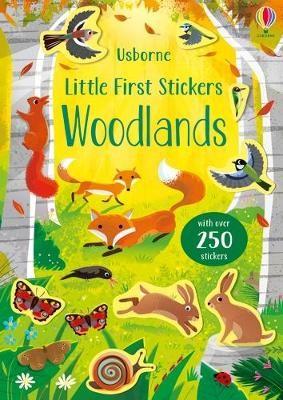 Little First Stickers Woodlands -