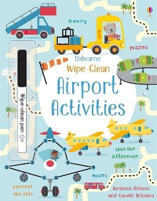 Wipe-Clean Airport Activities -
