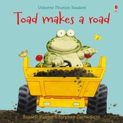 Toad makes a road -