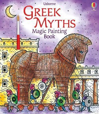 Greek Myths Magic Painting Book -
