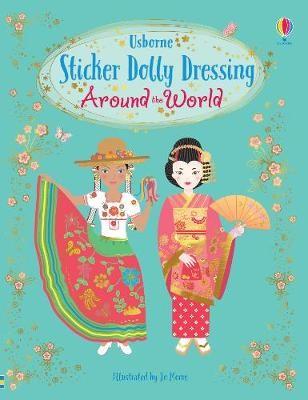Sticker Dolly Dressing Around the World - pr_1849830