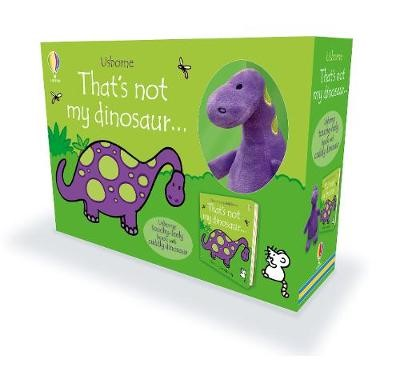 That's not my dinosaur... Book and Plush -