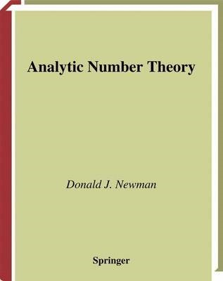Analytic Number Theory - pr_410592