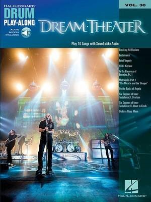 Dream Theater Drum Play-Along Volume 30 -
