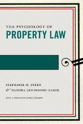 The Psychology of Property Law - pr_1753822