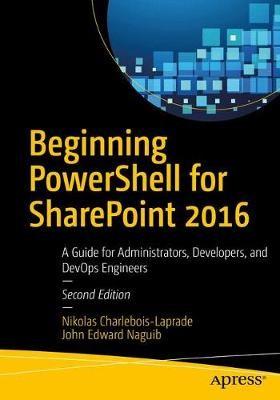 Beginning PowerShell for SharePoint 2016 - pr_262369