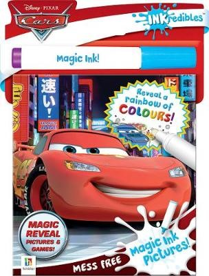 Inkredibles Disney Cars Magic Ink Pictures -