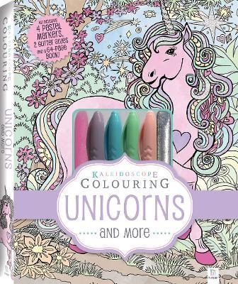 Kaleidoscope Pastel Colouring Kit: Unicorns and More - pr_228740