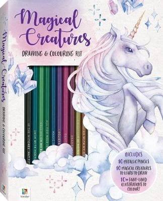 Magical Creatures Colouring and Drawing Kit - pr_427220