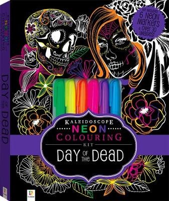 Kaleidoscope Colouring: Neon Day of the Dead Kit - pr_1763388