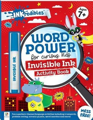 Inkredibles - Word Power Invisible Ink Activity Book -