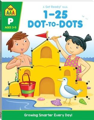 1-25 Dot-to-dot: A Get Ready Book (2019 Ed) -
