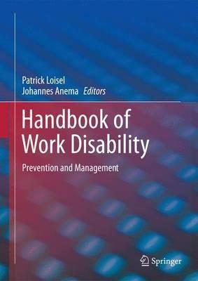 Handbook of Work Disability -