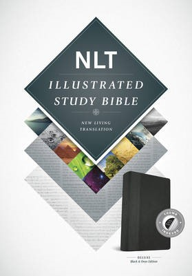 NLT Illustrated Study Bible Tutone Black/Onyx, Indexed - pr_132920