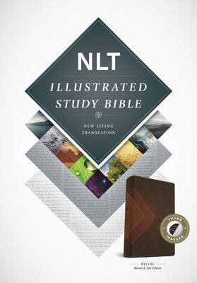 NLT Illustrated Study Bible Tutone Brown/Tan, Indexed - pr_132916