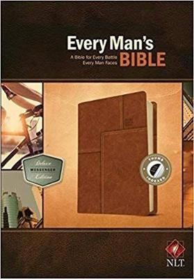 NLT Every Man's Bible, Deluxe Messenger Edition - pr_132911