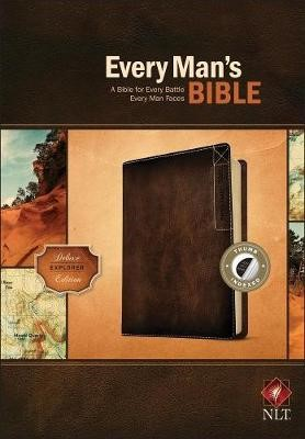 NLT Every Man's Bible, Deluxe Explorer Edition - pr_132836