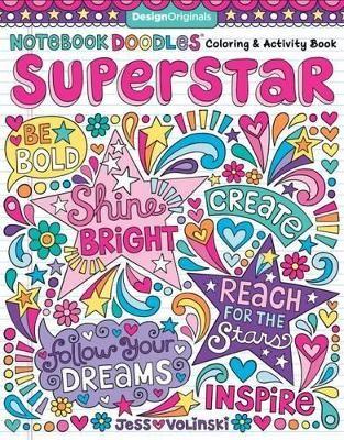 Notebook Doodles Superstar -