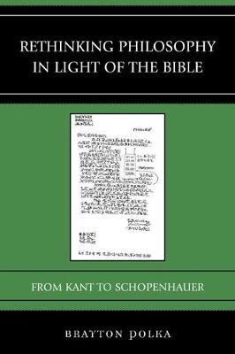 Rethinking Philosophy in Light of the Bible - pr_132925