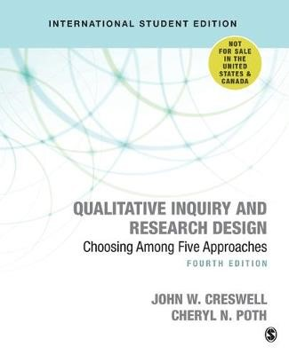 Qualitative Inquiry and Research Design (International Student Edition) -