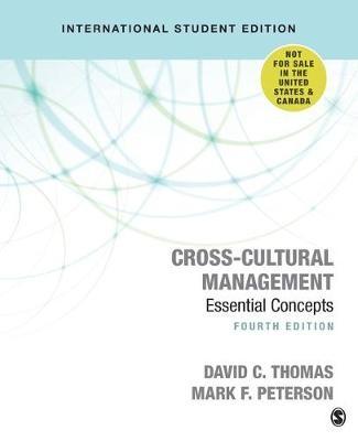 Cross-Cultural Management -